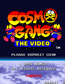 Cosmo Gang The Video