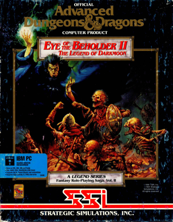 AD&D Legend Vol. II: Eye of the Beholder II: The Legend of Darkmoon