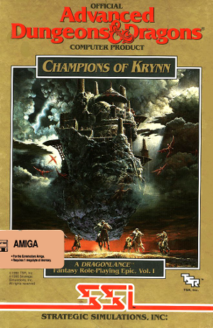 AD&D Dragonlance Vol. I: Champions of Krynn
