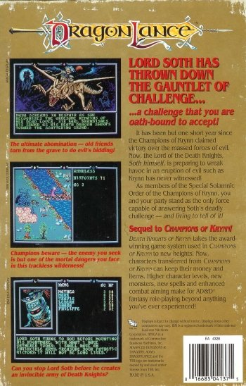 AD&D Dragonlance Vol. II: Death Knights of Krynn