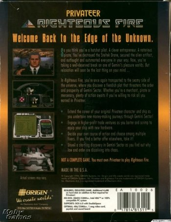 Wing Commander Privateer: Righteous Fire