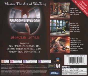 Wu-Tang Shaolin Style