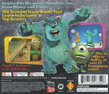 Monsters, Inc. Scream Team