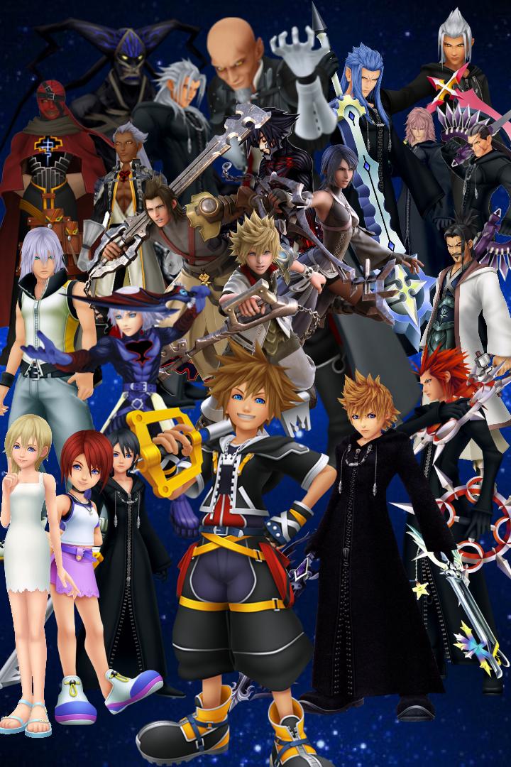 Kingdom Hearts 31 HD Games Wallpapers | HD Wallpapers | ID