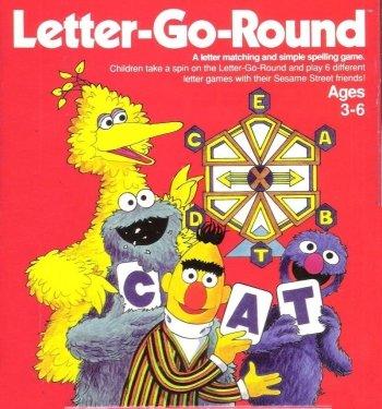 Sesame Street Letter-Go-Round