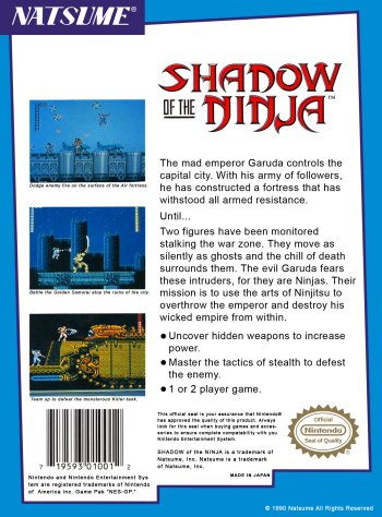 Shadow of the Ninja