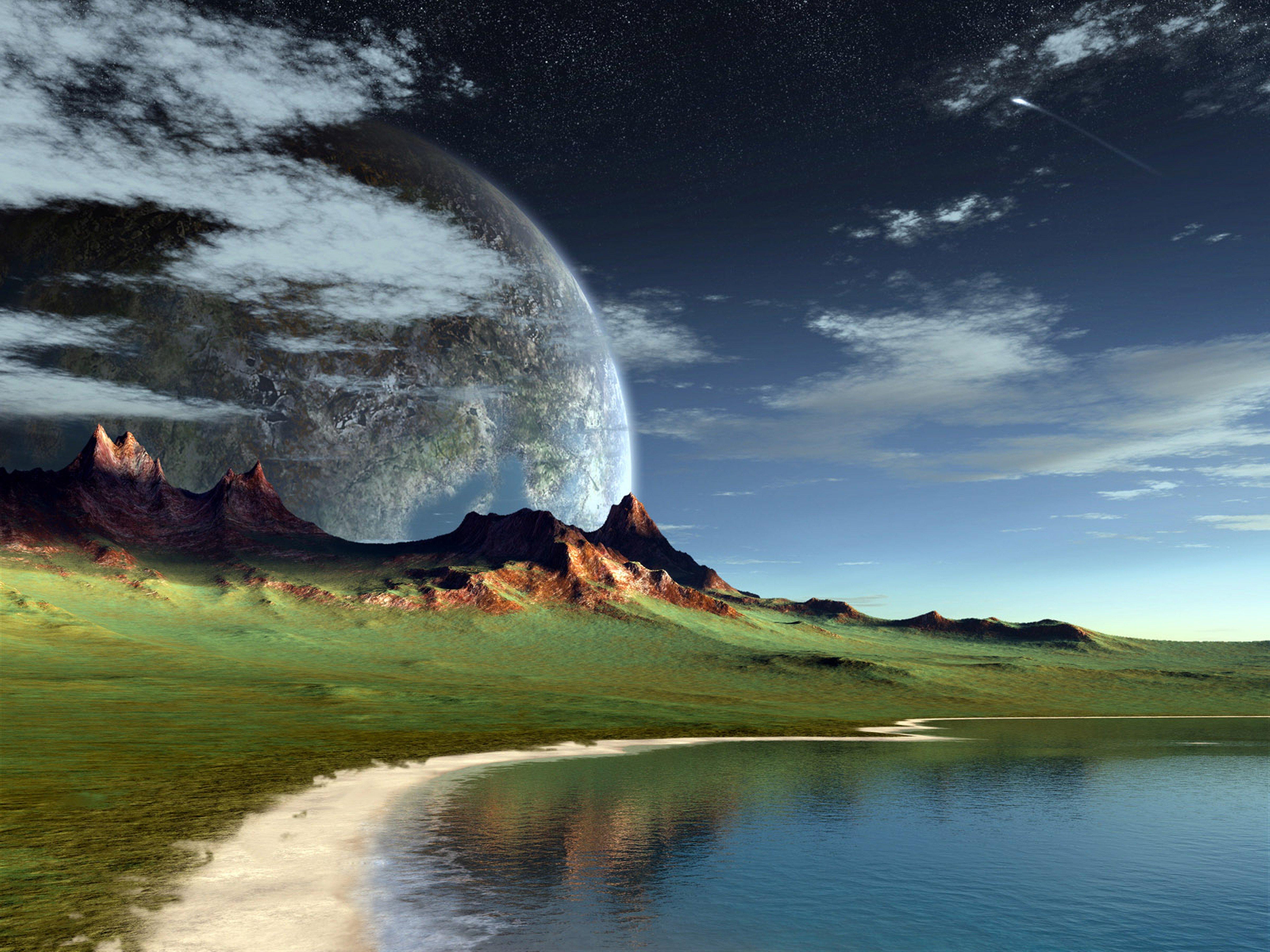 alien landscapes fantasy - HD4800×3600