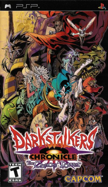 Darkstalkers Chronicle: The Chaos Tower