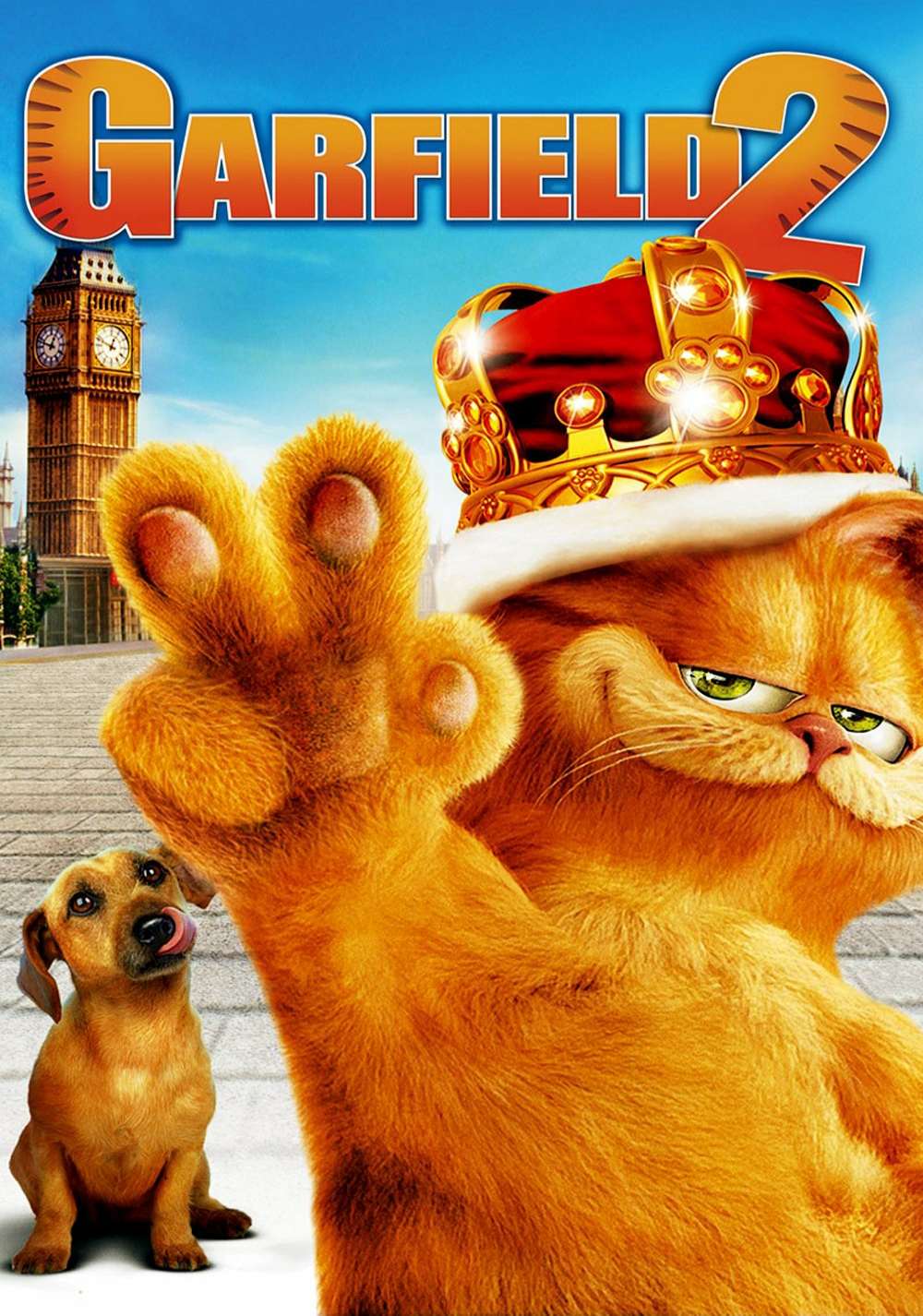 Garfield A Tail Of Two Kitties Movie Poster Id 94108 Image Abyss