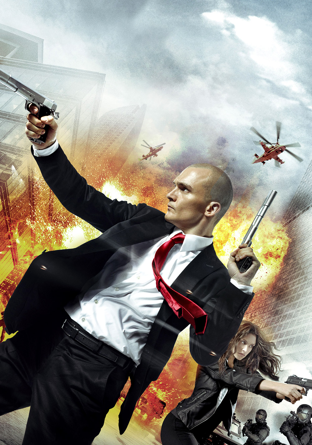 Hitman Agent 47 Movie Poster Id 97304 Image Abyss