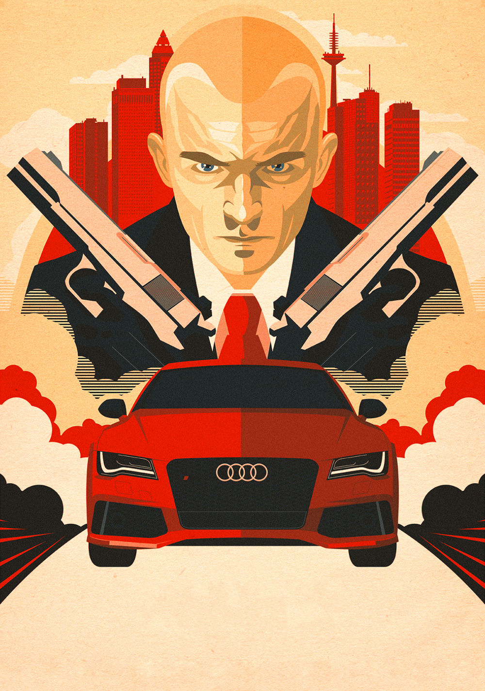 Hitman Agent 47 Movie Poster Id 97320 Image Abyss